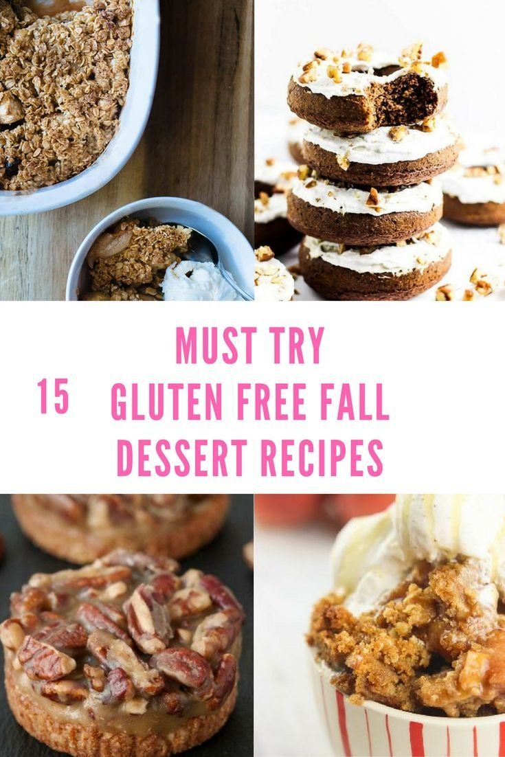 Check out this roundup of Gluten Free Fall Dessert Recipes! Perfect for those fall days and perfect for your sweet tooth this fall!