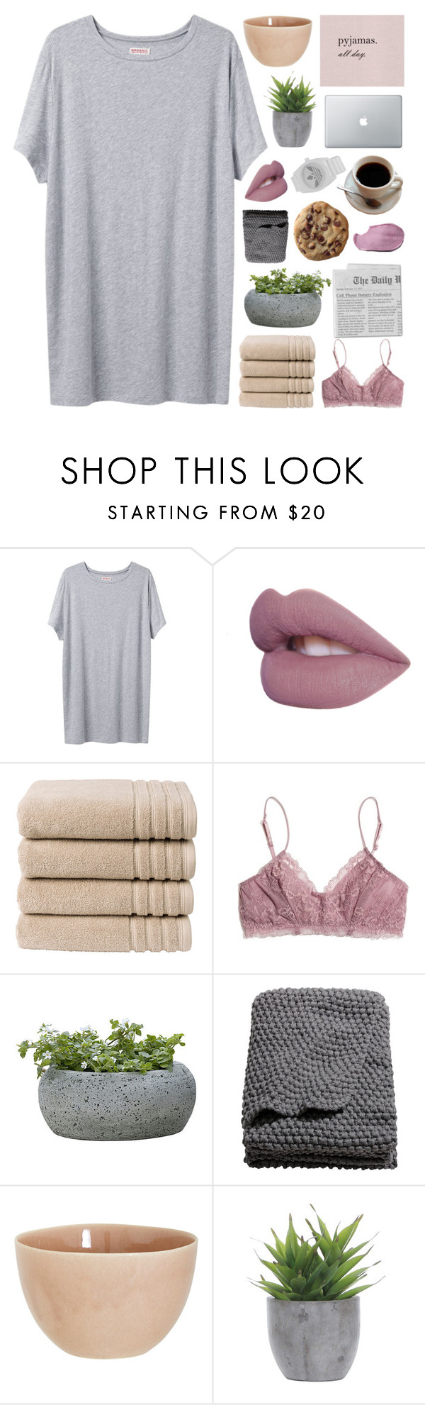 """""""ALANA"""" by d0ntblink ❤ liked on Polyvore featuring Organic by John Patrick, Christy, Madewell, Campania International, H&M, atelier tete, Lux-Art Silks, adidas, women's clothing and women"""