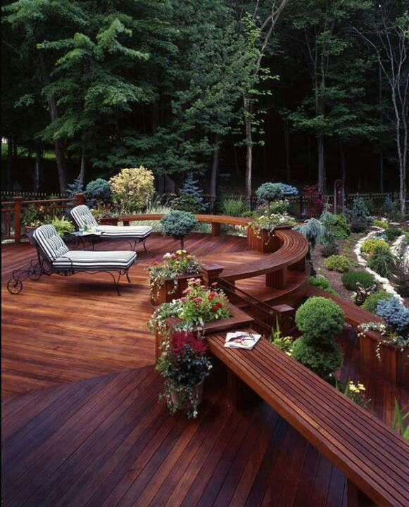 Love This Deck Earth Friendly Abode Patio Design