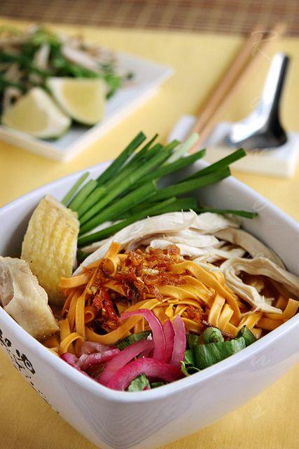 Mi Ga Vietnamese Chicken Noodle Soup | Food | Noodles