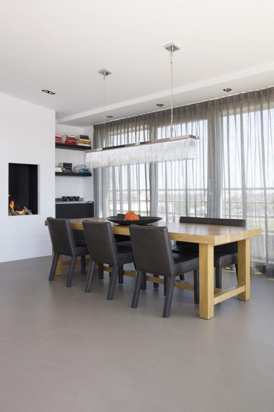 Van der Windt - Inrichting penthouse met strak interieur
