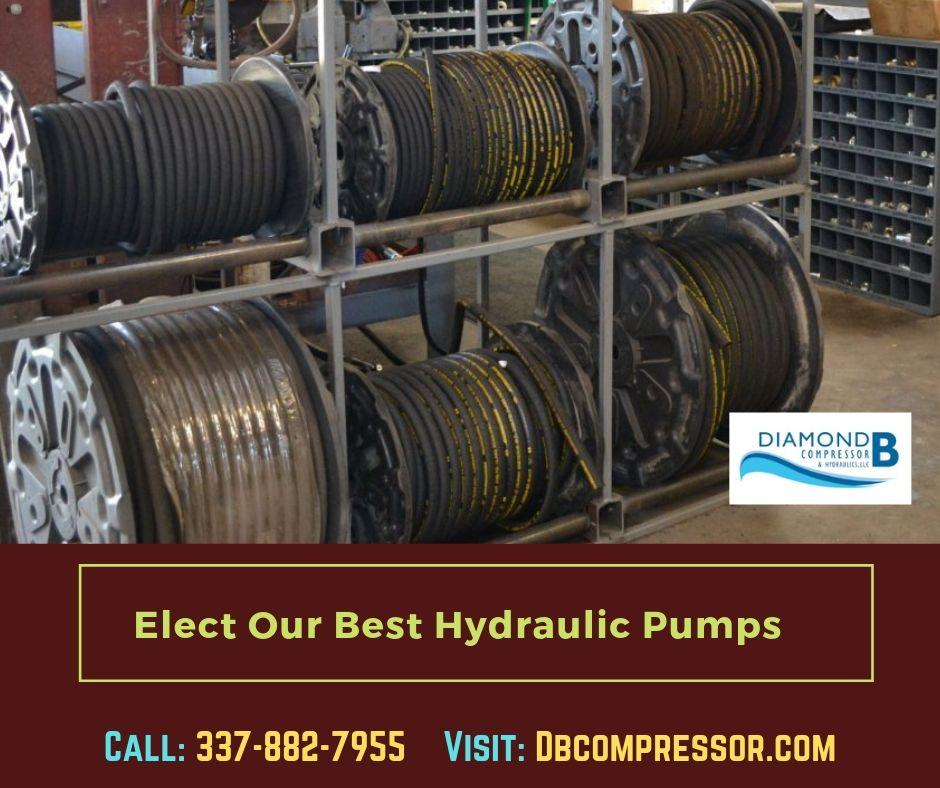 Texas Marine Services Hydraulic pump, Hydraulic cylinder