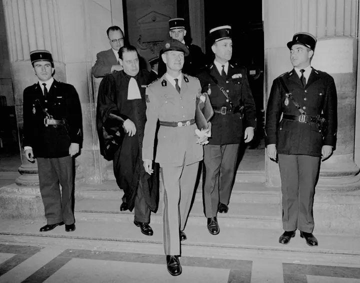 Helie Denoix De St Marc A Son Proces Grands Hommes Armee Francaise Guerre D Algerie