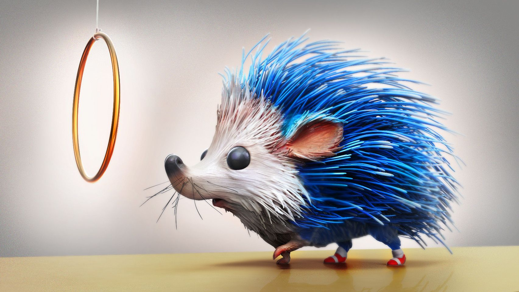 ArtStation Sonic the real Hedgehog, 3d conversion