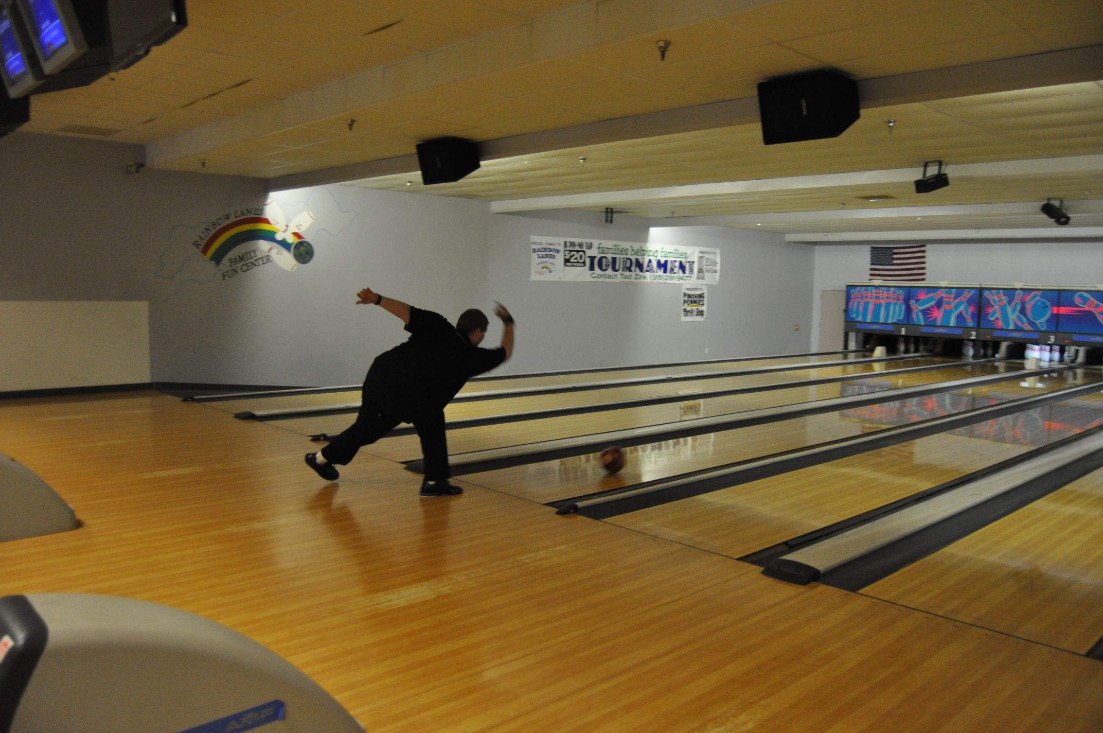 Rainbow Lanes Offers Family Fun With Bowling An Arcade Food And Pool Tables Family Fun Fun Bowling