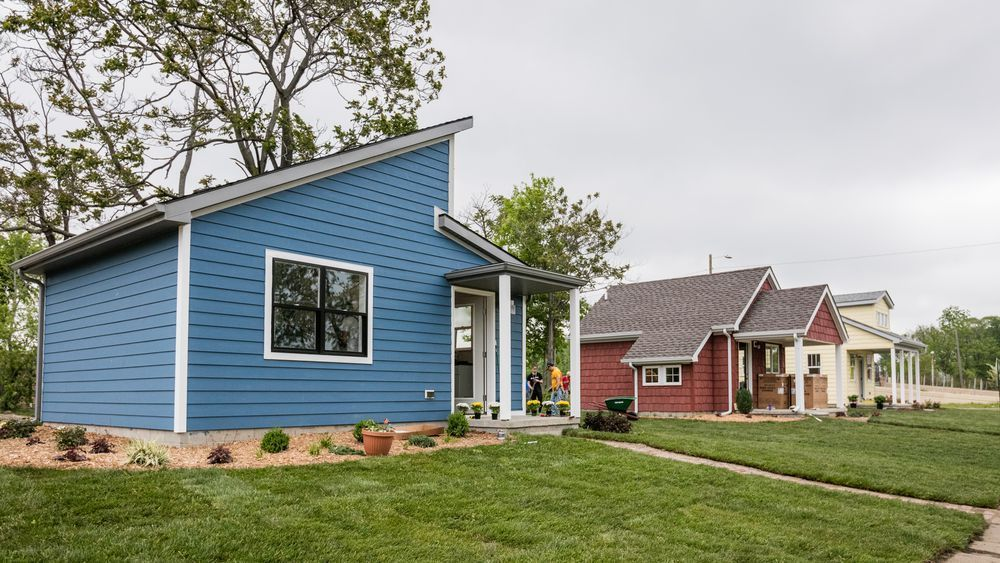 Six Tiny Houses Are Ready For Low Income Residents On A Formerly