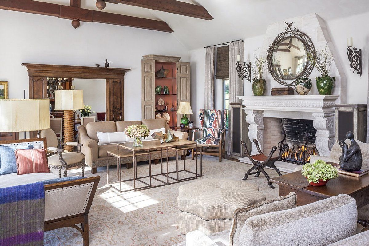 French Living Room Design Amazing French Living Room In Harte Brownlee & Associates  Family Design Ideas