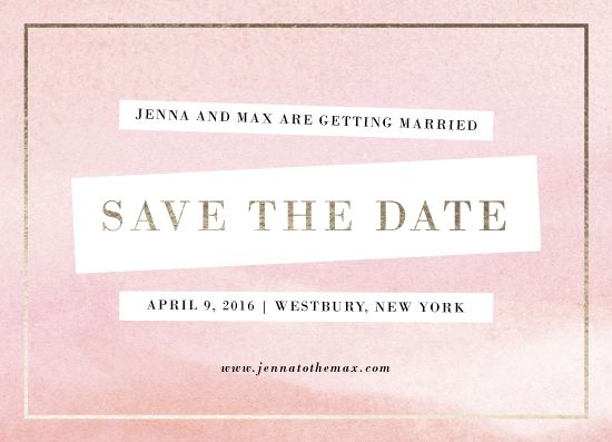 save the date cards - Graphique by Sincerely Jackie