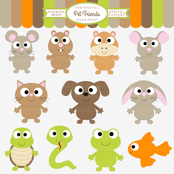 Pet Friends Clipart Cliparts Mygrafico Com Animal Clipart Animal Toy Design Clip Art