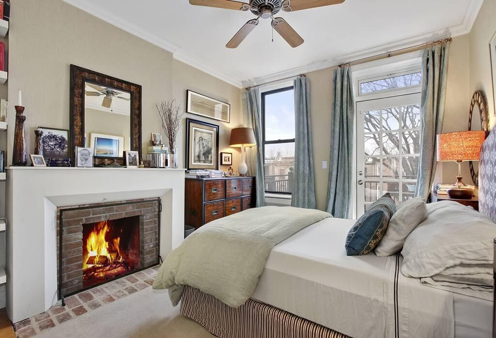 Bedroom Fireplace Design Fake Fireplace In Bedroom  Fireplace  Pinterest  Fake Fireplace