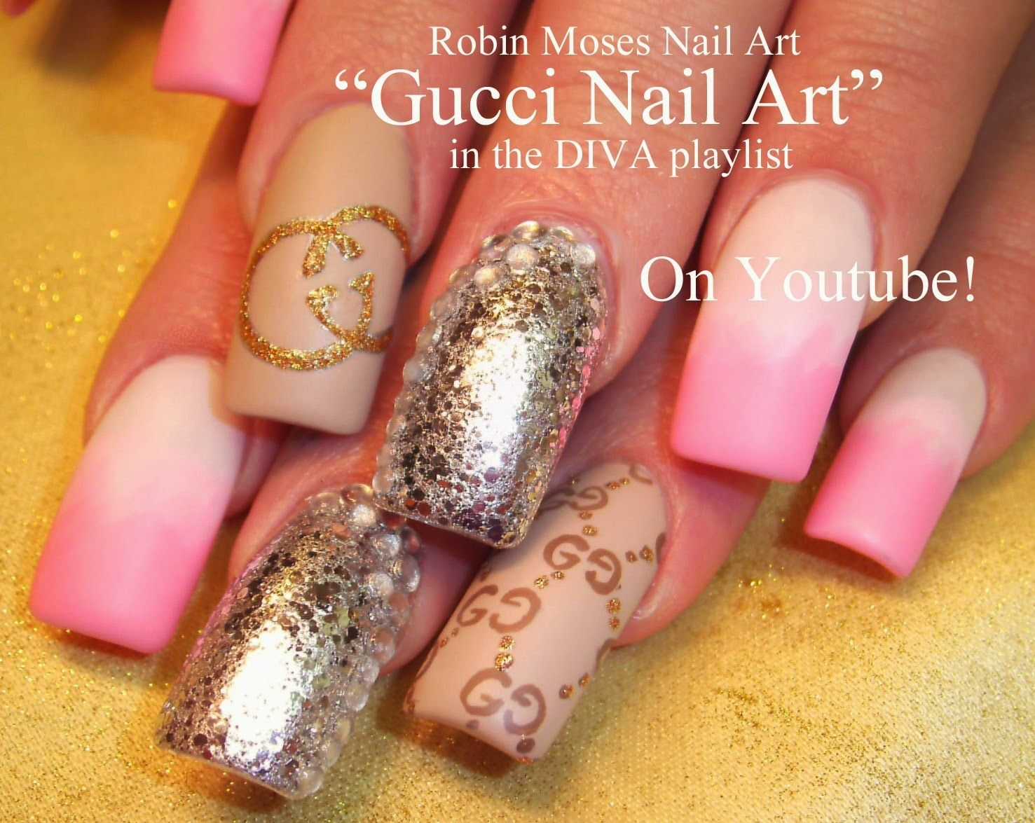 Gucci Nail Art Gucci Nails Designer Nail Art Nail Art Robin
