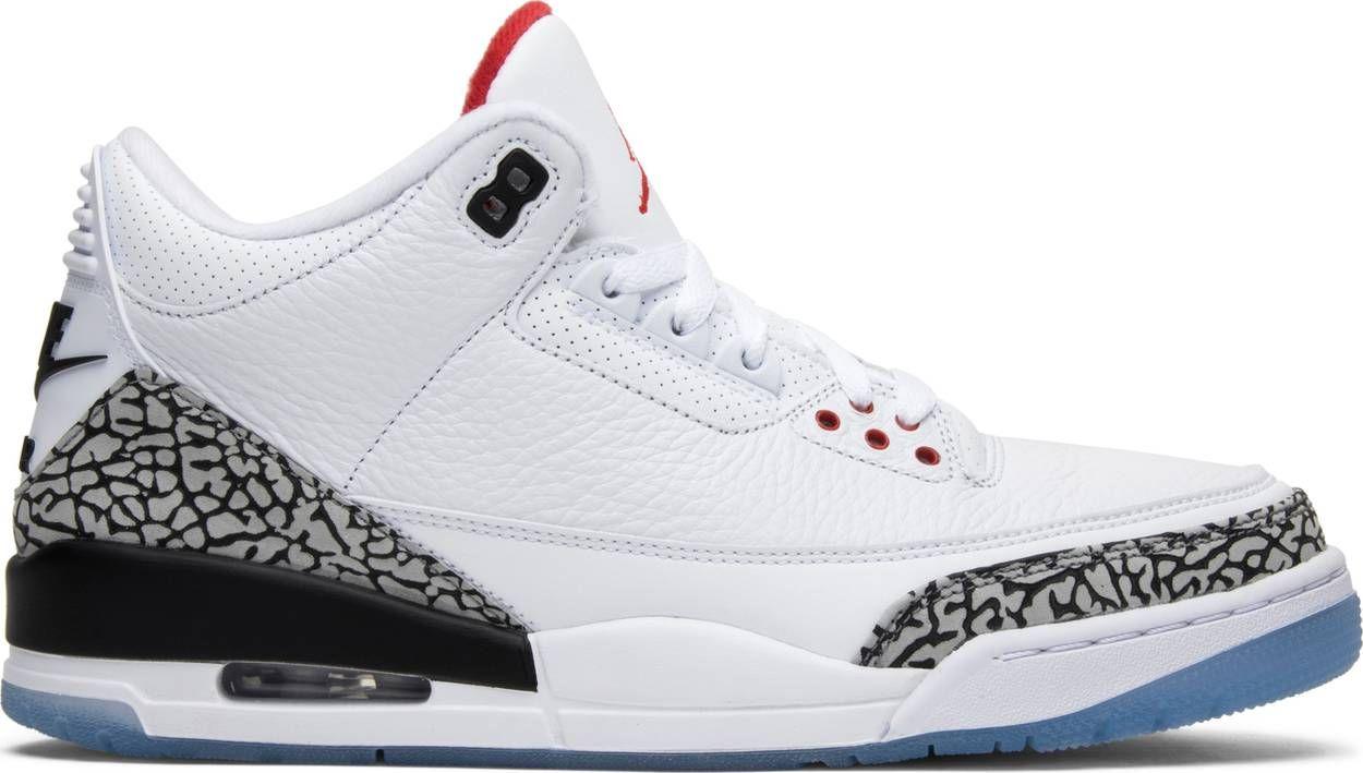 b501ab4cd44 Air Jordan 3 Retro NRG 'Free Throw Line' - Air Jordan - 923096 101 | GOAT