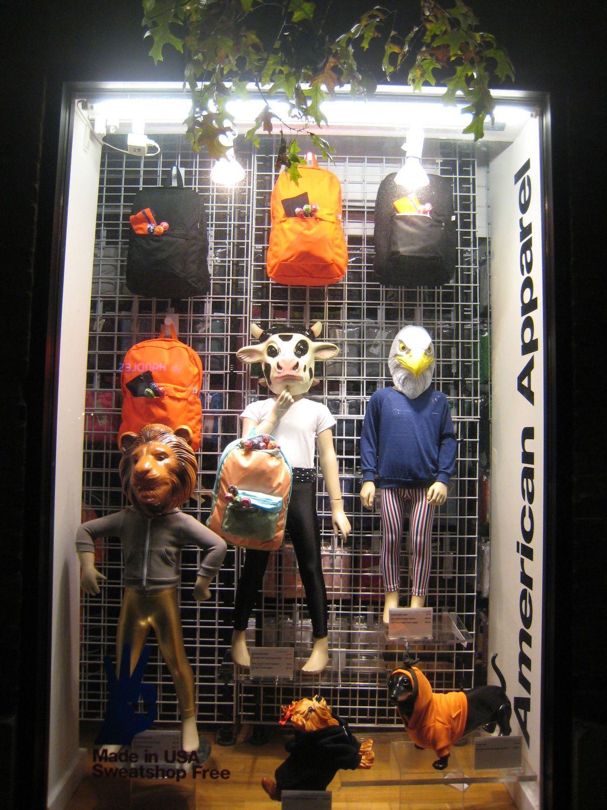 HALLOWEEN12 NYC Visual Merchandising Halloween inspo