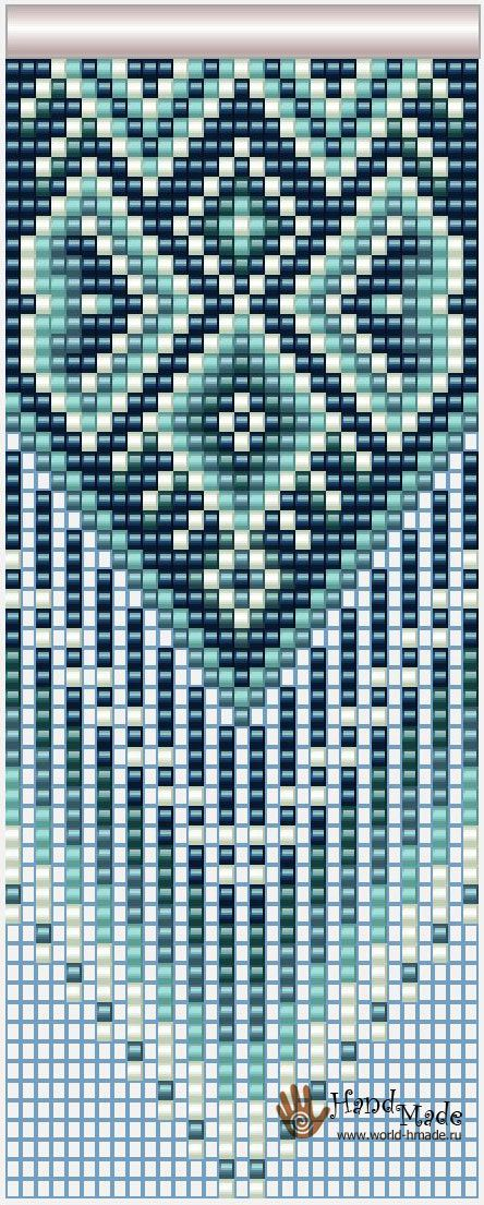 Схемы ткачества на станке бисером схемы