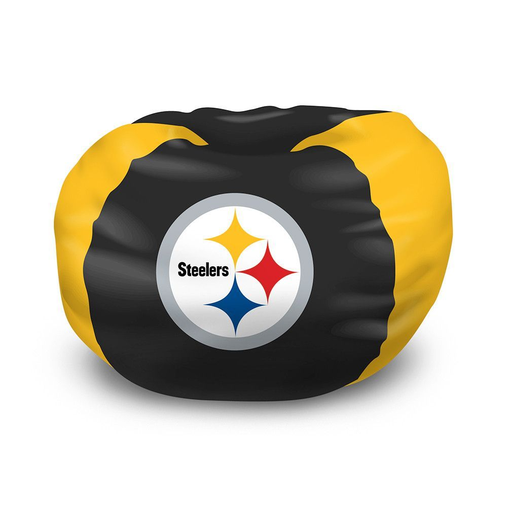 Pittsburgh Steelers Nfl Team Bean Bag 96 Round