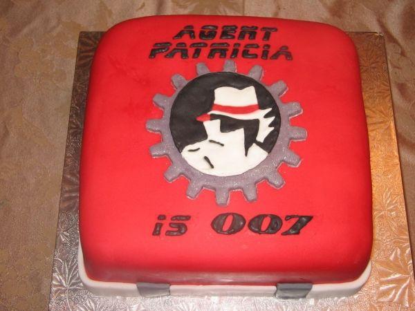 Birthday Cake With Name Tag ~ Spy theme saturday session name tags cakes spy