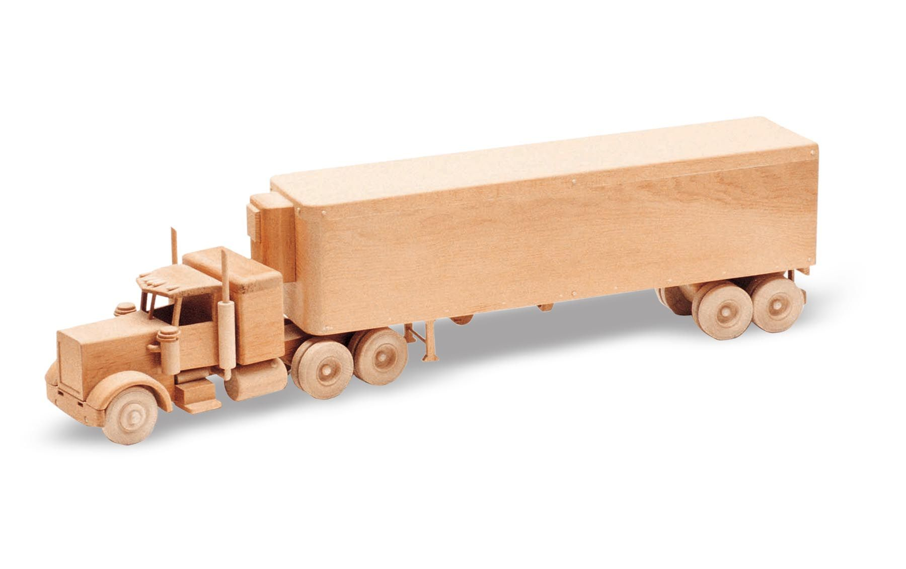 32 The Big Rig Wooden Toy Plans Woodworking Wooden