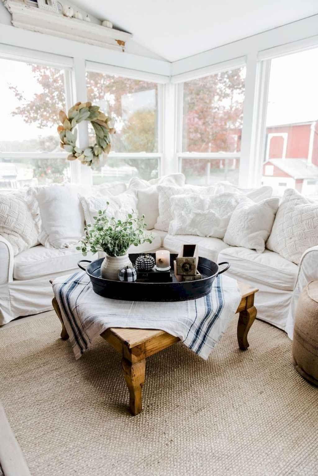 - 55 Cozy Modern Farmhouse Sunroom Decor Ideas Sunroom Decorating