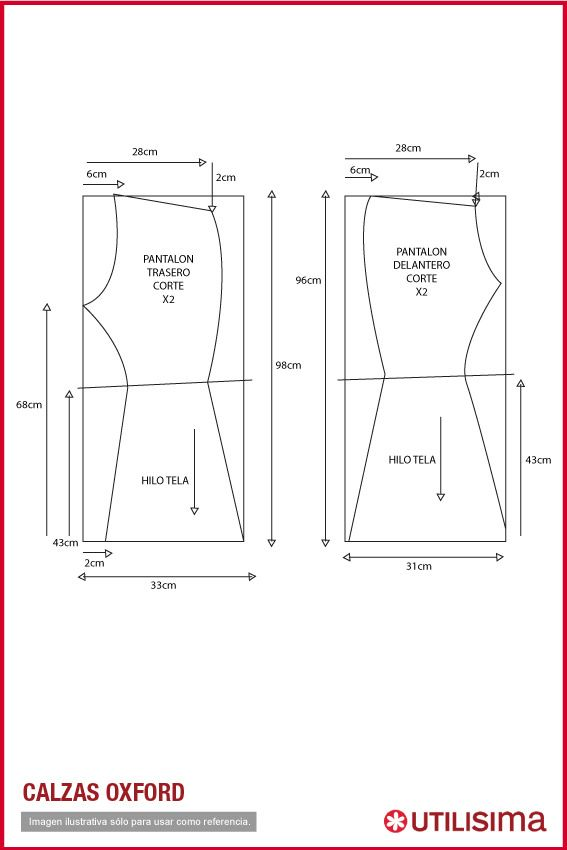 Pin de Alejandra Silva en Costura | Costura, Patrones de costura y ...