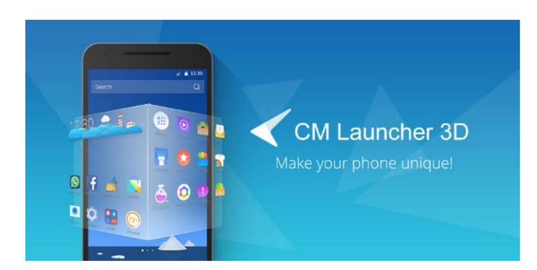Cm Launcher 3d V5 2 0 Pro Apk