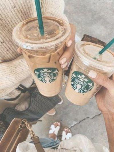 11 Healthier Starbucks Drinks To Try On Your Next Order | Cella Jane #healthysta…