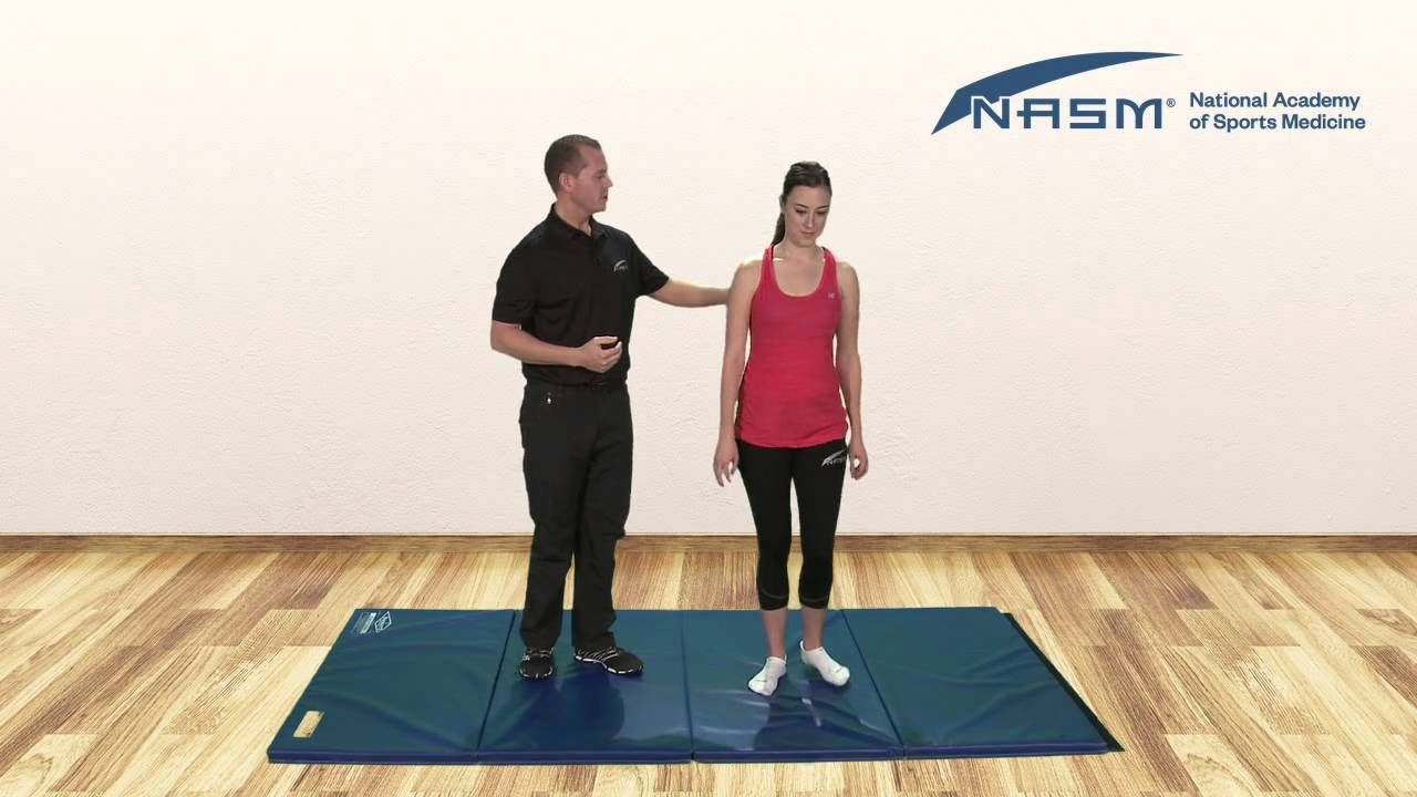 Overactive and Underactive Muscles Anterior Pelvic Tilt