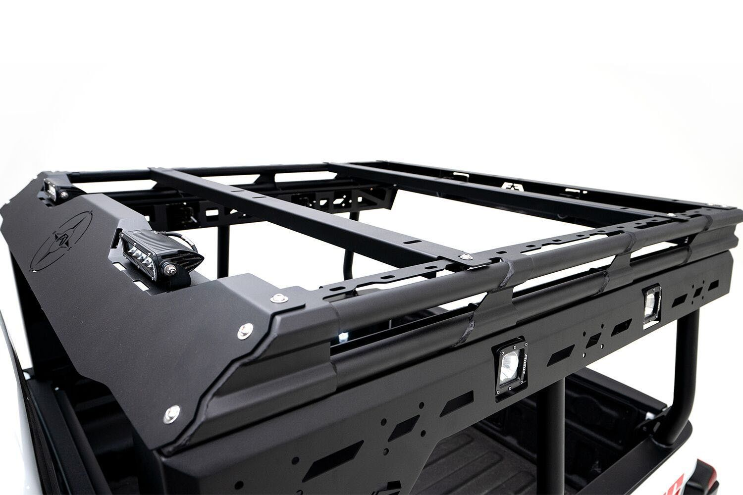 Fab Fours Overland Rack For 20 21 Jeep Gladiator Jt In 2020 Jeep Gladiator Jeep Gladiator