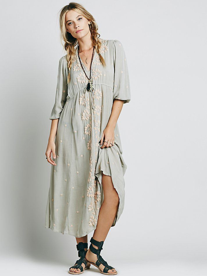24cc914ddd9 Free People Embroidered Fable Dress