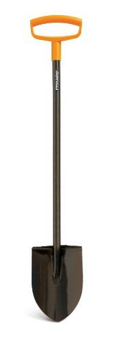 Fiskars 46 Inch Steel Dhandle Digging Shovel 9669 >>> Click image to review more details.