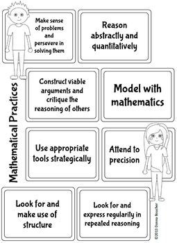 Standards for Mathematical Practice (CCSS) Posters