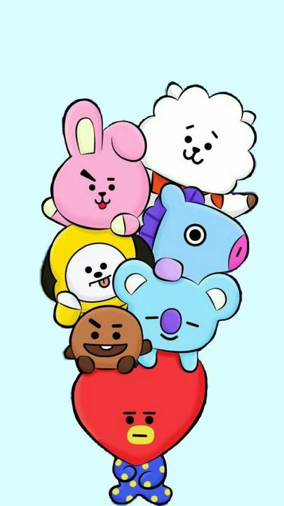 •BTS WALLPAPERS• - BT21.🎈