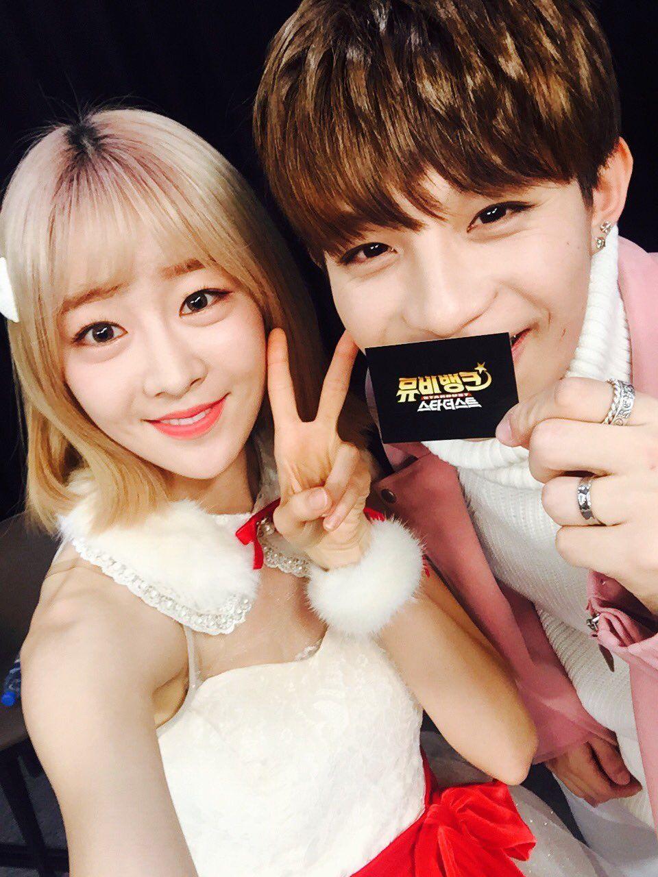 UP10TION Jinhoo & laboom - KBS STardust MC #UP10TION #업텐션 #Jinhoo #진후