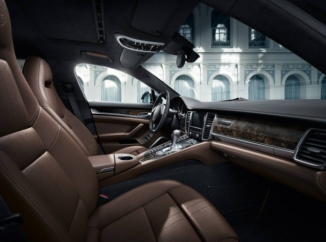 Porsche Panamera Exclusive Series Interior Revealed Porsche