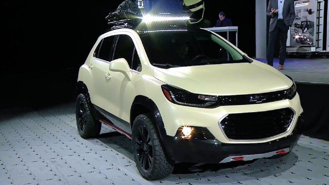2017 Chevrolet Trax Activ Concept World Premiere 2016