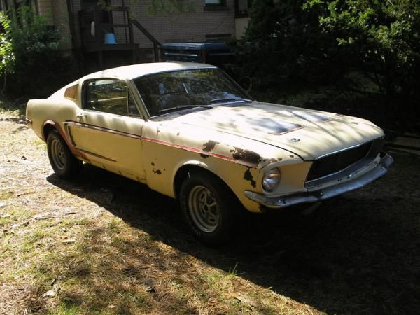 1968 Ford Mustang Fastback Oh The Possibilities For Restoring This Baby