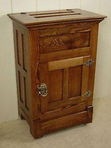 Antique Ice Box Antique Oak Ash Ice Box Ebay Antique Ice Box Vintage Ice Box Antique Oak Furniture