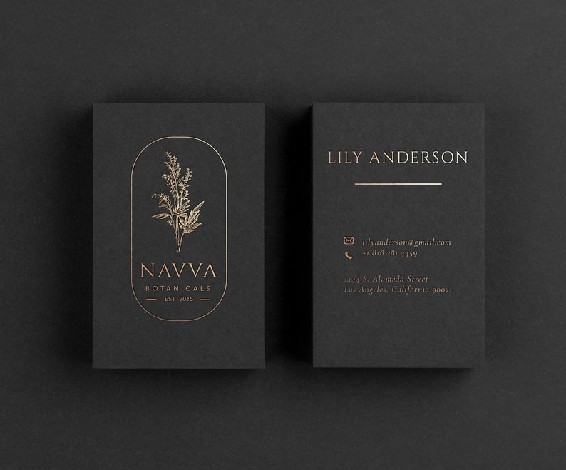 Luxury Black Business Card Printing Business Card With Gold Foil Stamping Gold Foil Calling Card In 2021 Luxury Black Business Cards Printing Business Cards Business Card Design Black