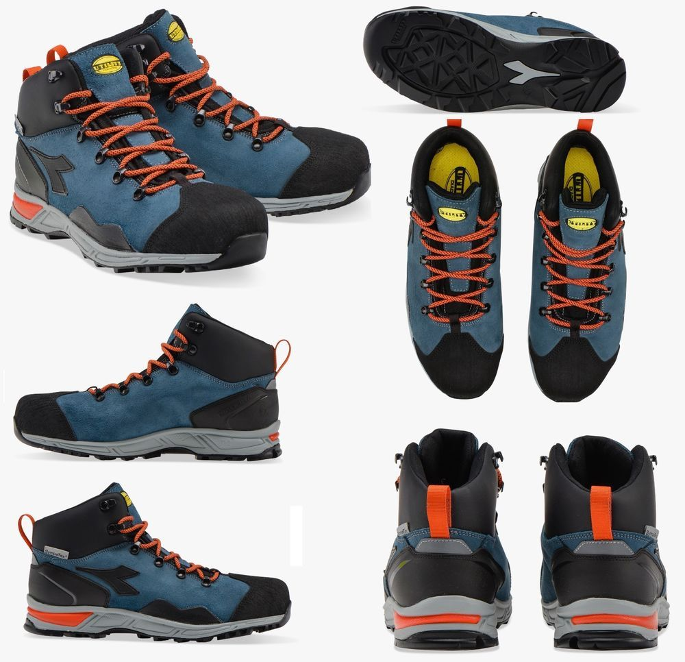 SCARPE DIADORA ALTA D TRAIL LEATHER HIGH Calzatura di sicurezza Mid cut S3