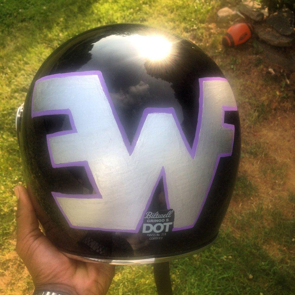Image of Custom Helmet Designing