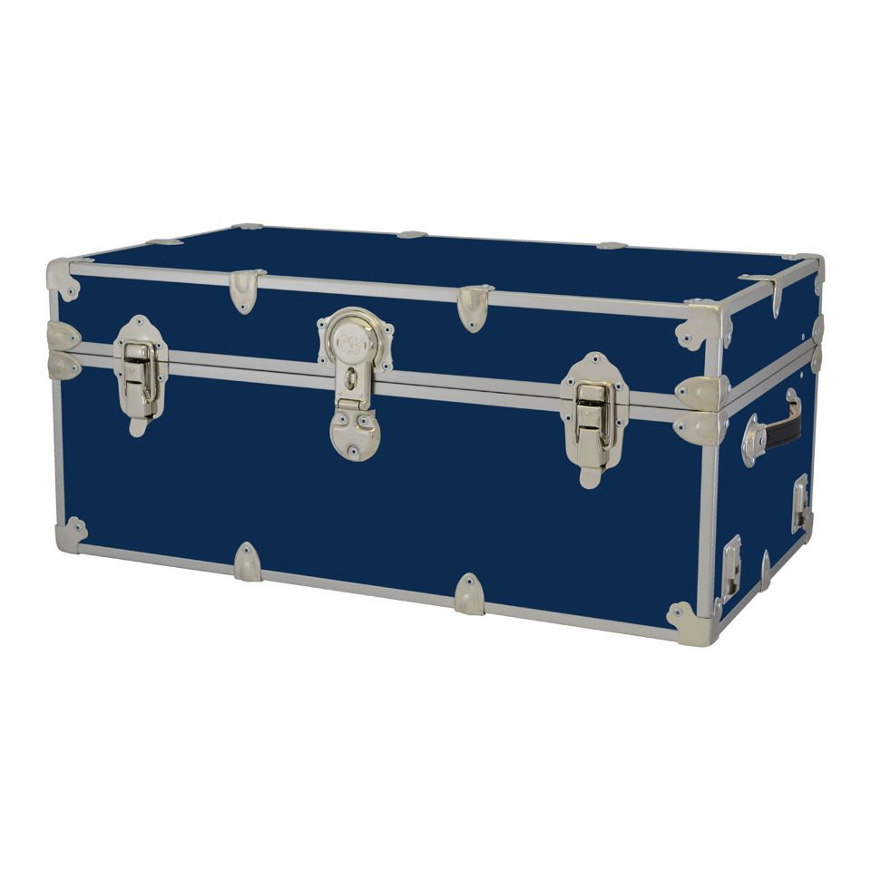 Storage Trunks For College Inspiration New Rhino Storage Trunk Footlocker 32X18X14For Camp College & Dorm Inspiration Design