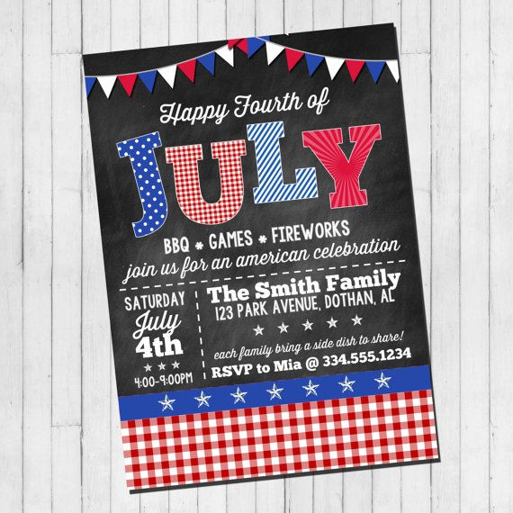 Red, White, and Blue! di Renae Schmidt su Etsy
