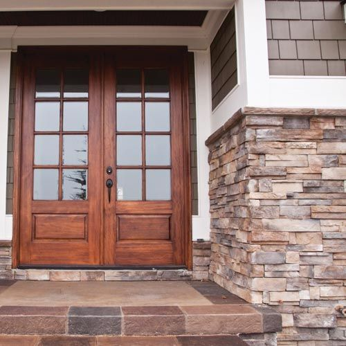 Rock Siding Ideas: Dutch Quality Sienna Dry Stack Artificial Stone Siding