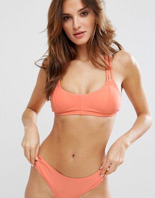 Y.A.S - Bali - Haut de bikini - Orange D'origine Pas Cher Confortable Vente En Ligne Prix Flambant Neuf Unisexe Pas Cher Amazone Jeu fh4XaKe