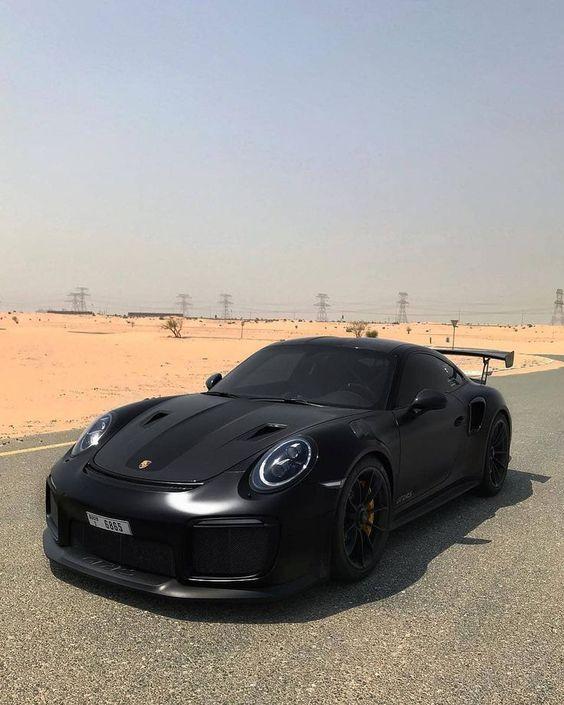 Luxury Cars, Porsche Cars, Black Porsche