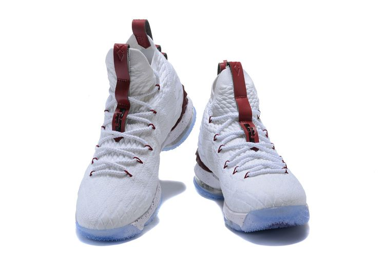 cb725ca64835 Official Cheap LeBron Shoes 2018 Lebron 15 Rose Red White | Lebron ...