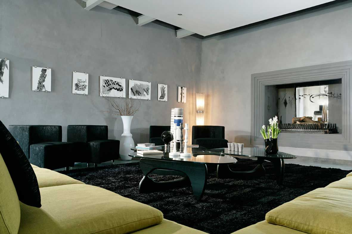 resemblance of black living room rugs – intentional decoration for