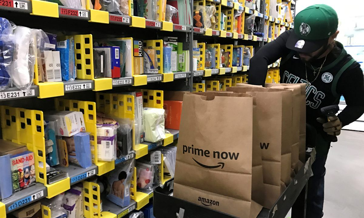 Amazon Patents Wristband To Track Warehouse Workers Warehouse