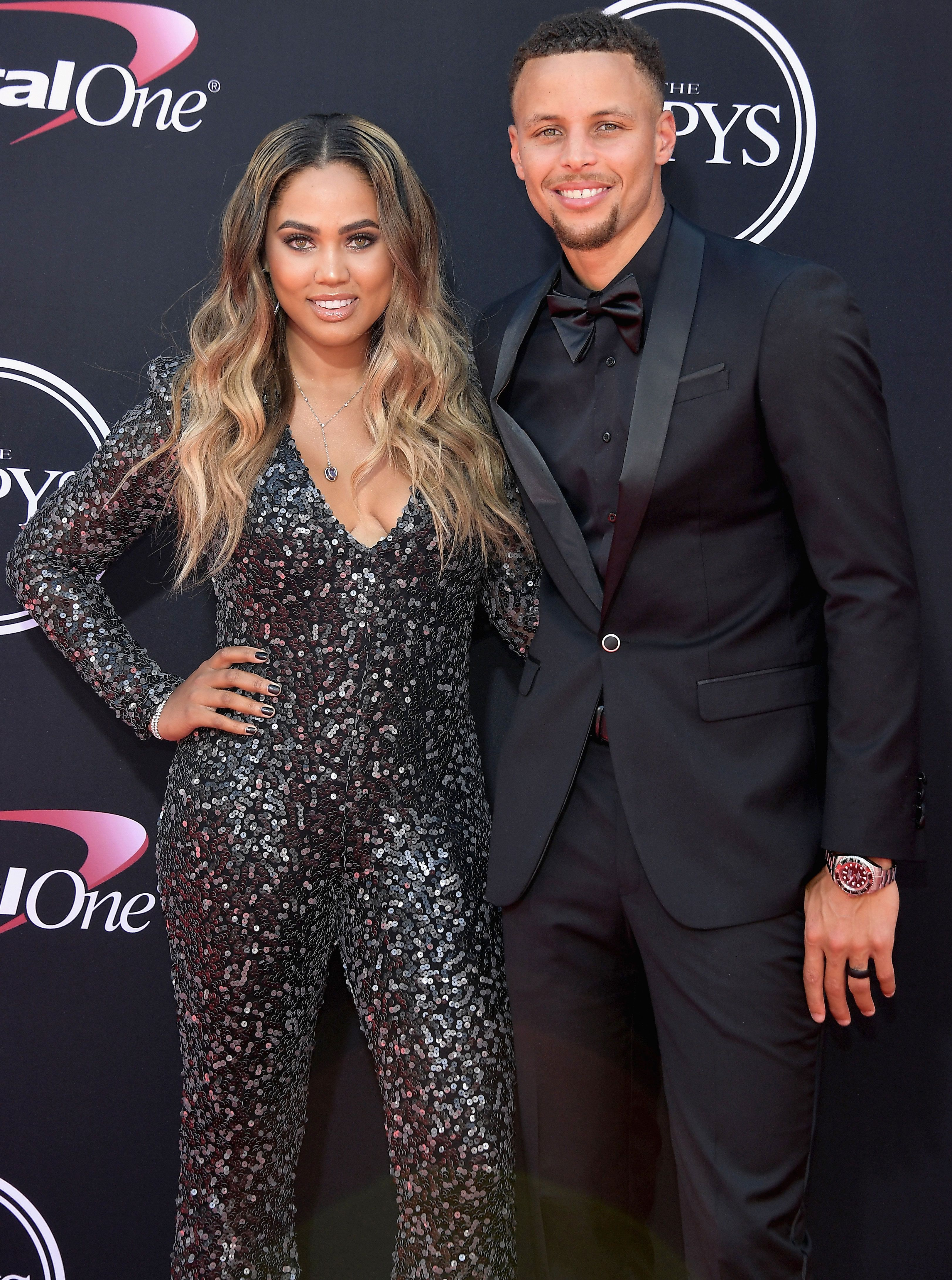 933719f9aeb1 Steph Curry s Wife Ayesha Claps Back After Donald Trump Rescinds ...
