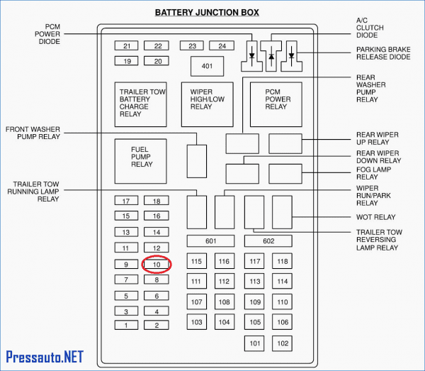 2003 Ford Expedition Fuse Box Wiring Diagram