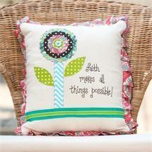 All Things Possible Pillow